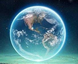 5 D Earth Glow