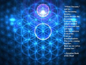 Flower of Life Egpt Book of dead