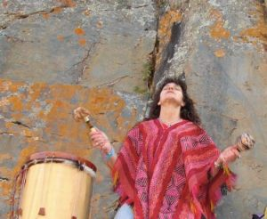 Kyria drum & chant peru ollana