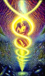 twin flames spiral vortex