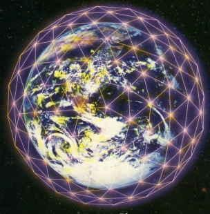 Christ Grid web earth