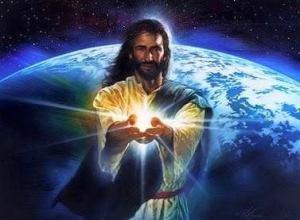 jesus light earth world