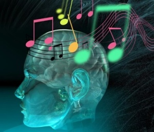 sound brain waves music notes