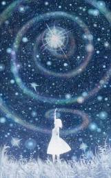 Stars phi spiral vortex priestess hand