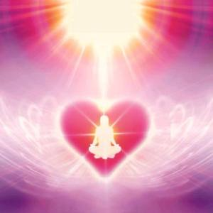heart meditate aura