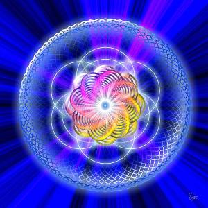 Seed of Life FOL Hologramm