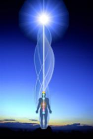 Source sound-light spiral