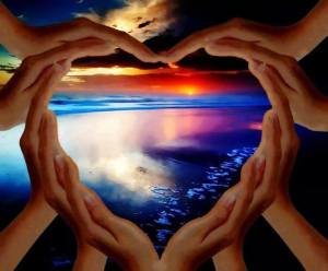 heart hands ONEness