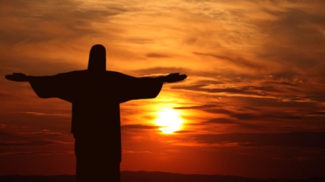 stock-footage-rio-de-janeiro-brazil-march-corcovado-mountain-sunset-rio-de-janeiro-brazil-jesus-christ